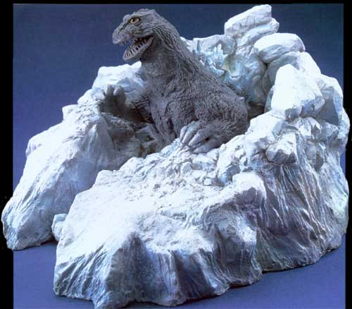 What Is Resin Material Appearance Of Godzilla 1962 Zokei Kobo