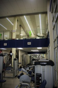 A view up to the second level of the facilities.