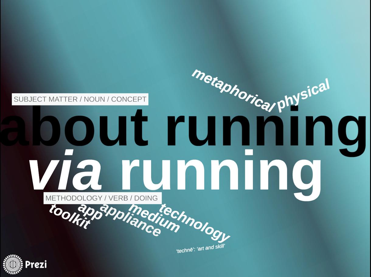 About Running Via Running