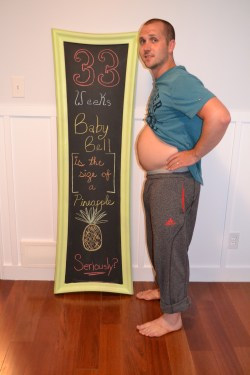 Horrible Chris Week Bump Update 2012 Page 31 Weeks Pregnant Video Emotional 31 Weeks Pregnant