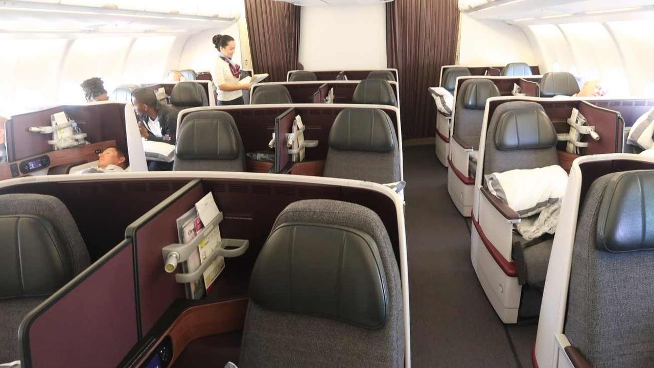 777 Interieur Qatar Airways Business Class Flight Review Onboard The Amazing