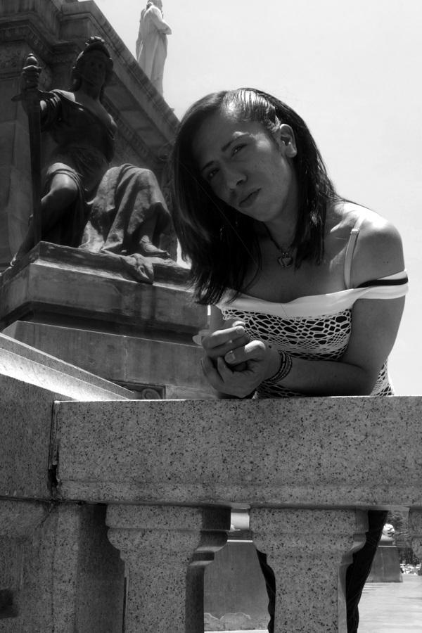 Carolina. Activista de la comunidad lgbt de sordos