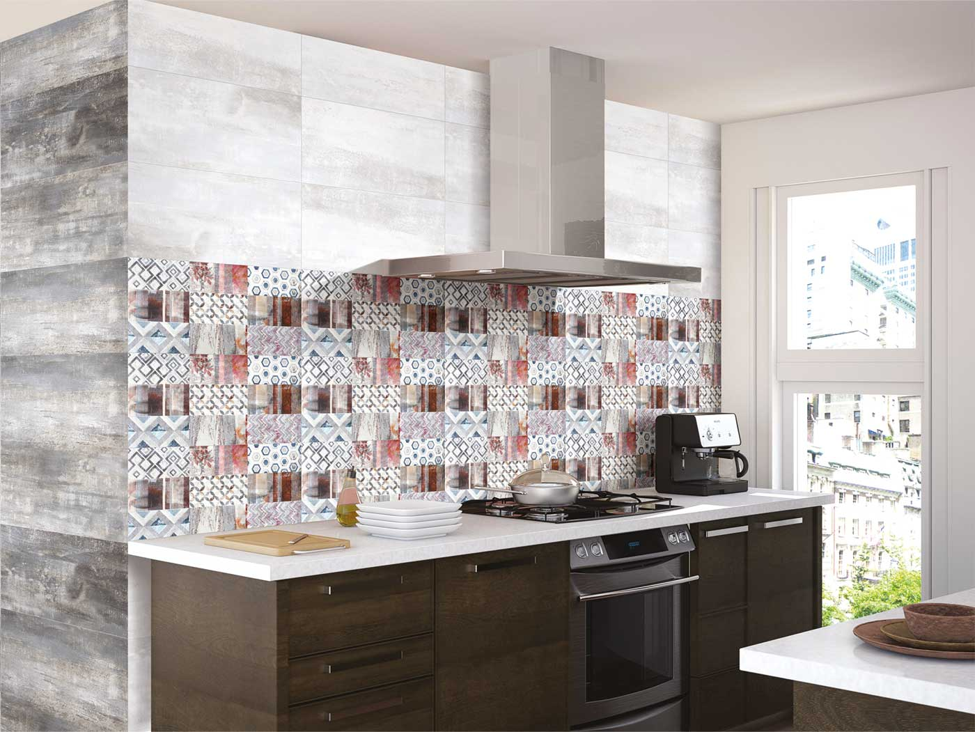 Kitchen Tiles Design Photos In India Metallic Kitchen Tiles In India Kajaria Ceramics Limited
