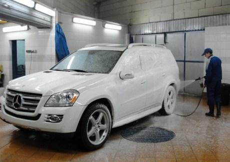 Все о мытье авто зимой видео
