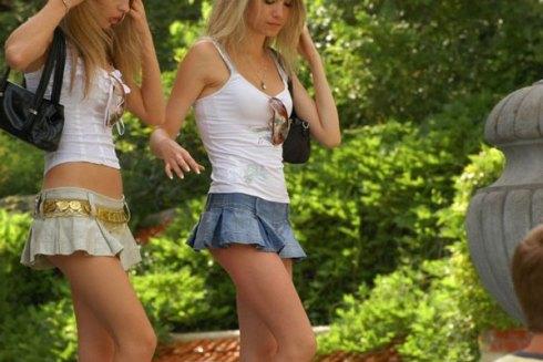 Правильная длина юбки макси