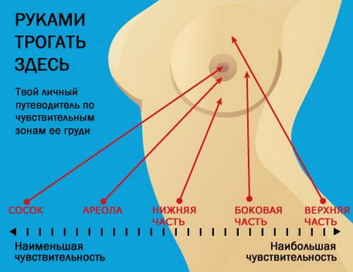 Как правильно ласкать груди?