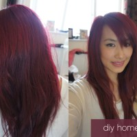 Seeing Red: At Home DIY Hair Colouring