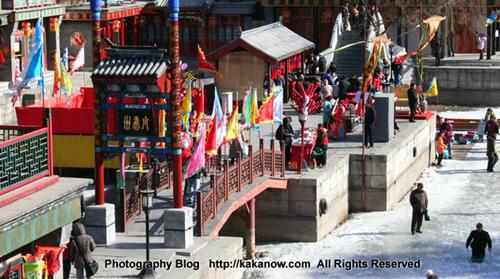 China Beijing Tour, Yiheyuan, the Summer Palace in winter. Photo by KaKa.