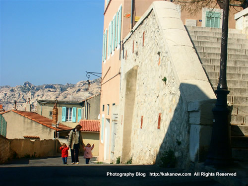 Southern France, Marseille, small fishing village and painters village L'Estaque. Photo by KaKa.