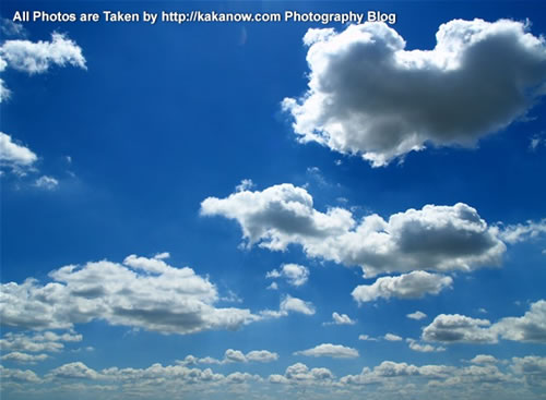China travel, Inner Mongolia, Horqin Prairie, beautiful sky and clouds. Photo by KaKa.