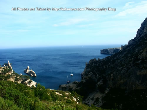France, Marseille, seaside of Les Calanques. Photo by KaKa.