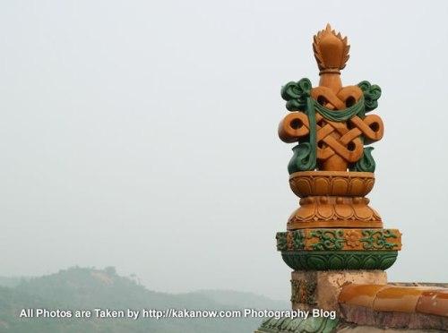 China travel, Hebei Province, Chengde. Buddhism Temples. Photo by KaKa.