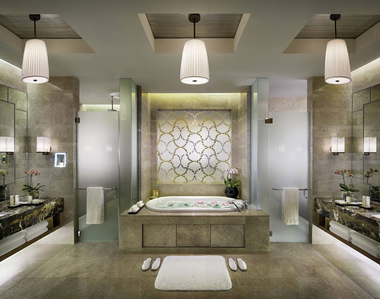 Badezimmer Acces Luxurious Bathroom Design In The City State Singapore The Marina