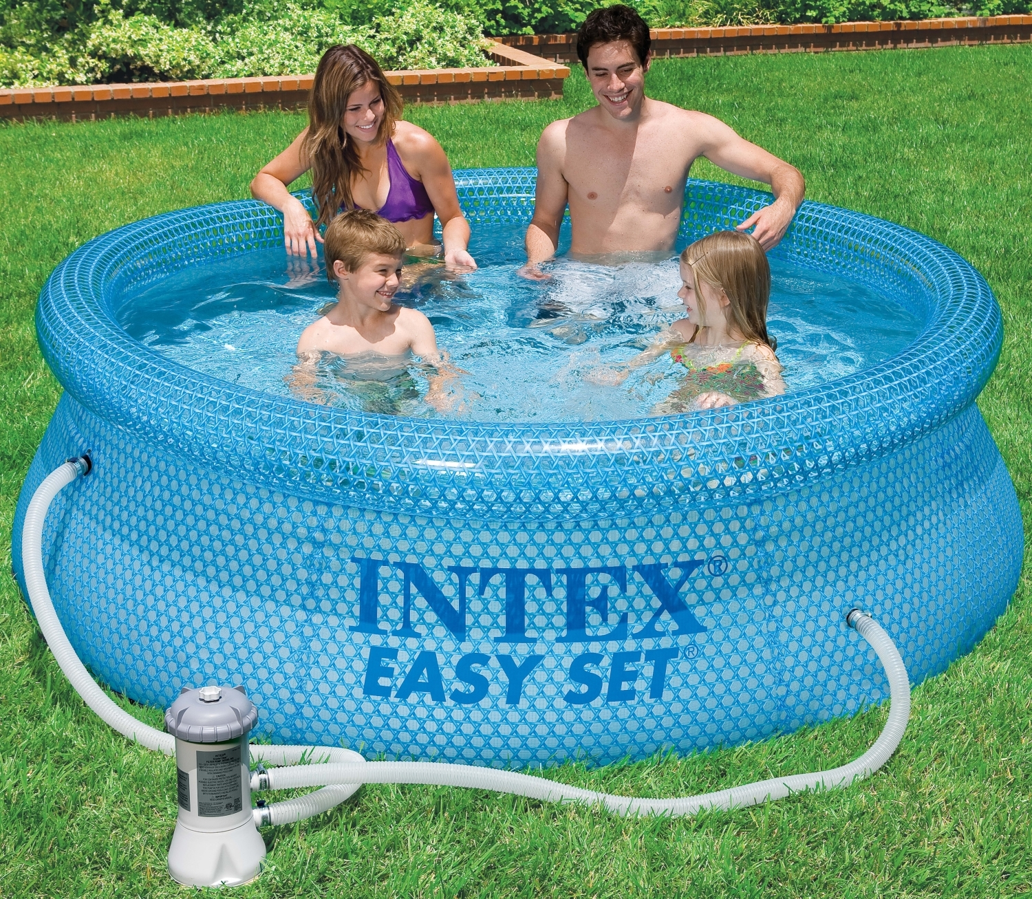 Filterpumpe Für Pool Welche Easy Set Pool Quotclearview Quot Mit Filterpumpe 244x76
