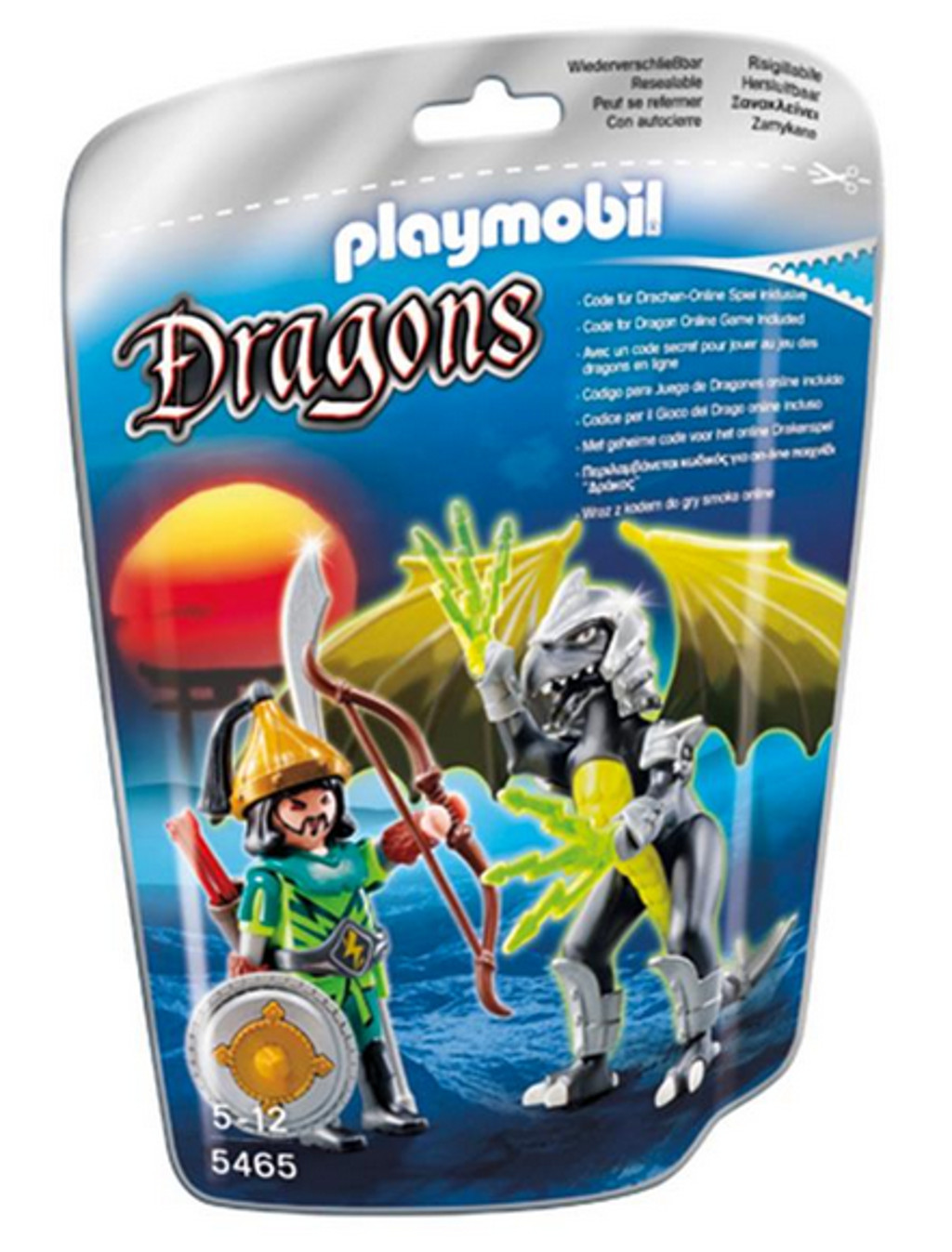 Dragonball Z Bettwäsche Playmobil 5465 Storm Dragon Mit Kämpfer