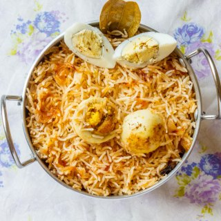 Egg Anda Biryani