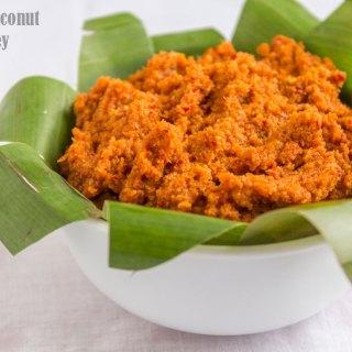 Roasted Coconut Chutney
