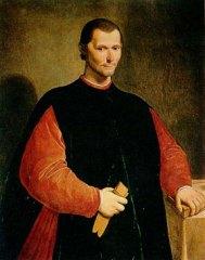 Maquiavelo, autor de El Príncipe
