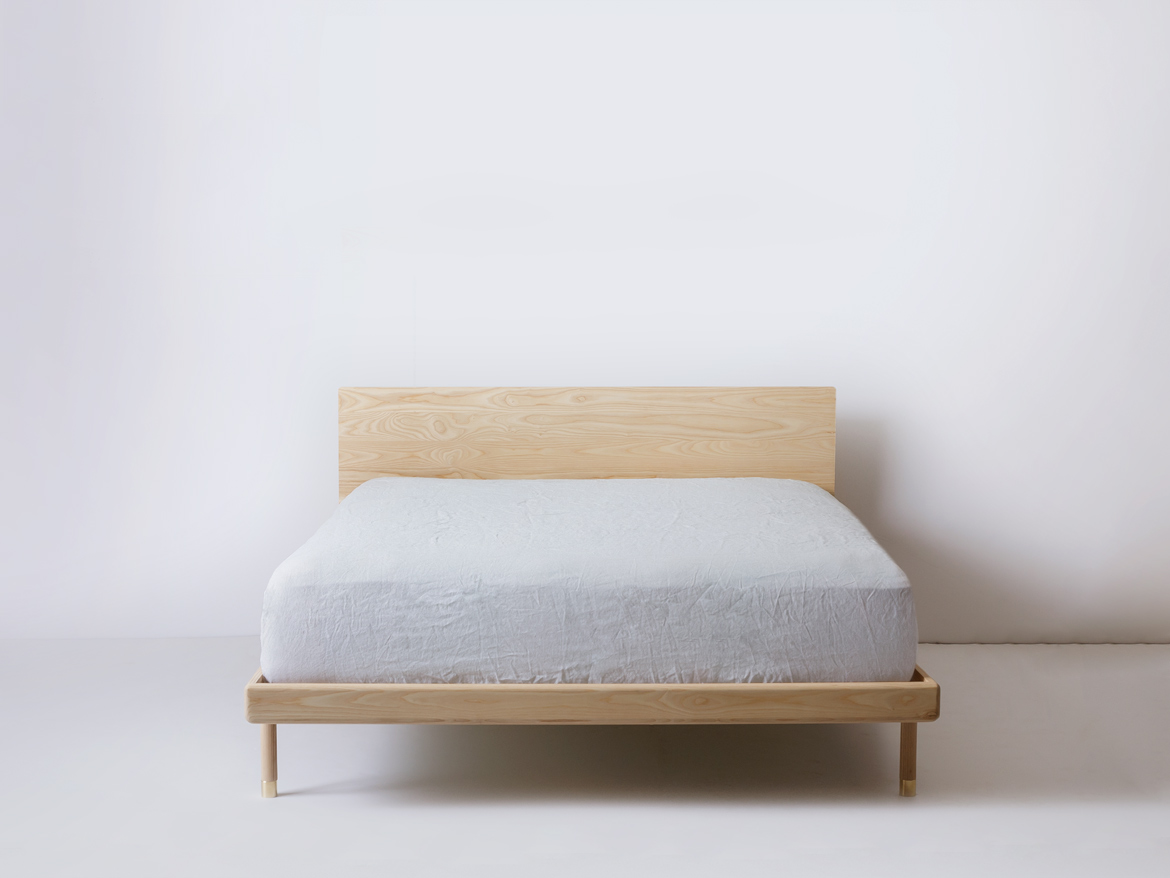 Simple Bed Platform Simple Bed Modern Platform Bed With Brass Feet Kalon