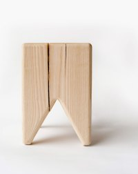 Stump - Modern Raw Wood Stool or Side Table | Kalon Studios US