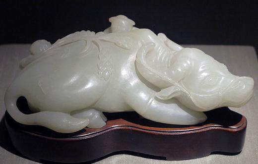 White Nephrite Sculpture
