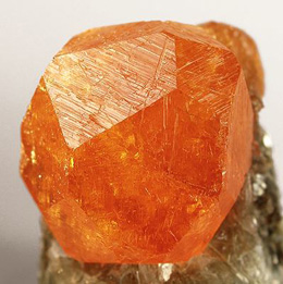 Orange Spessartine Garnet