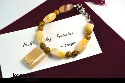 White Jasper Bracelet