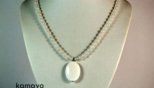 White Chalcedony Necklace