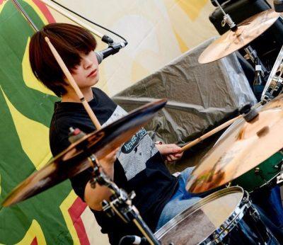 カネヨリマサルのドラム