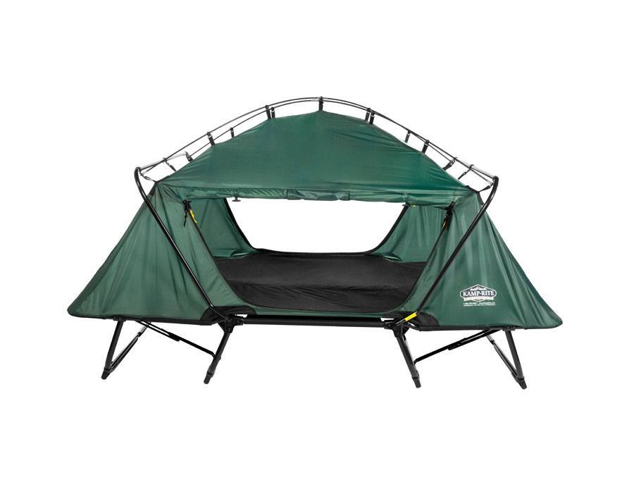 Tri-Fold Double Tent Cot Tent Pole Kamp-Rite - tri fold table tent