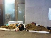 Hajléktalanság - 2013. január 16, Déli Pályaudvar