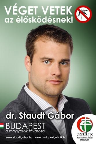 Staudt Gábor plakátja a 2010-es választásból.