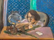 Henri Matisse: Woman Before an Aquarium (1921/23).