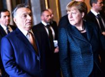 Orbán és Merkel