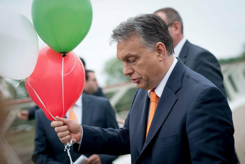 Orbán Viktor lufijai.