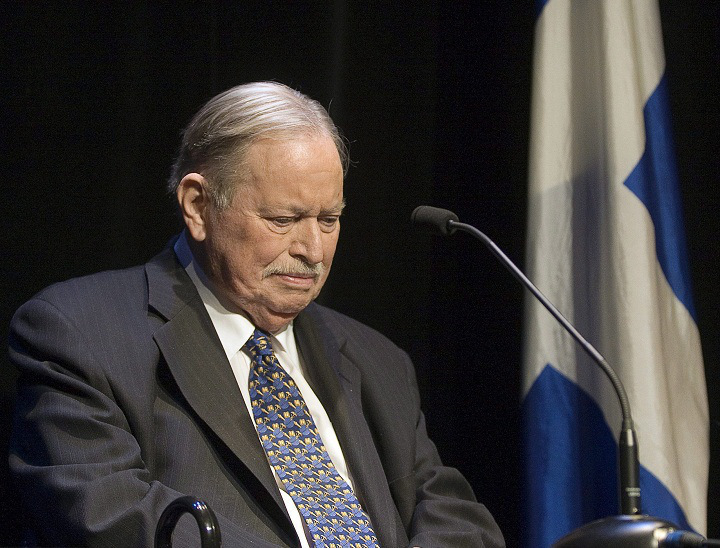 Jacques Parizeau. Fotó: Ryan Remiorz/Canadian Press