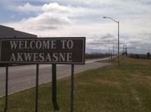 Az Akwesasne rezervátum kanadai oldala. Fotó: C. Adam.
