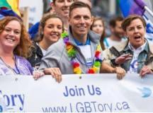 Patrick Brown, az Ontario tartománybeli Progresszív Konzervatív Párt (tehát a hivatalos ellenzék) vezetője.