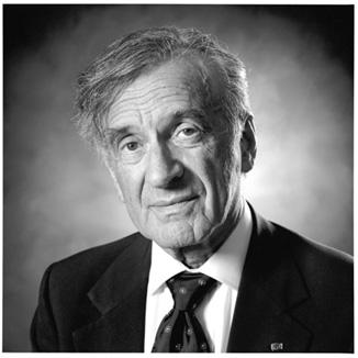 Elie Wiesel. Született 1928-ban,  Máramarosszigeten. Meghalt 2016. július 2-án New Yorkban.