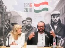 Desmond Child, magyar származású amerikai zeneszerző Schmidt Máriával. Fotó: Horváth Péter Gyula.