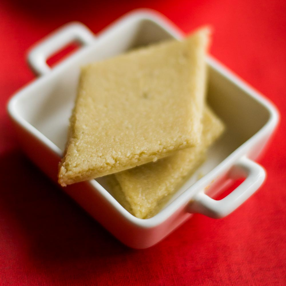 Ginger Flower Tea Kaju Katli, Easy Kaju Katli Recipe, Beginners Kaju Katli