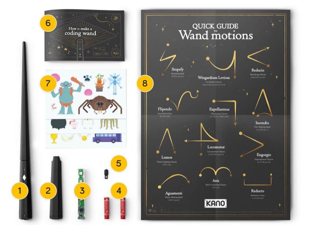Magic Wand Harry Harry Potter Kano Coding Kit Build Your Own Wand