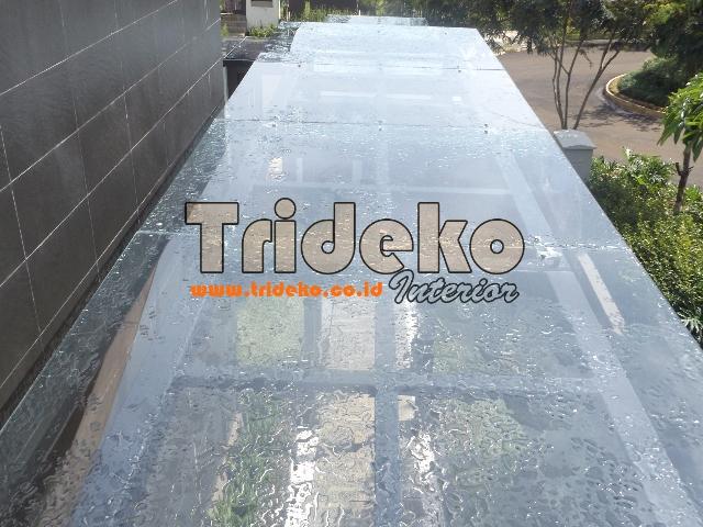 Proyek Canopy Kaca Spider Fitting Bogor