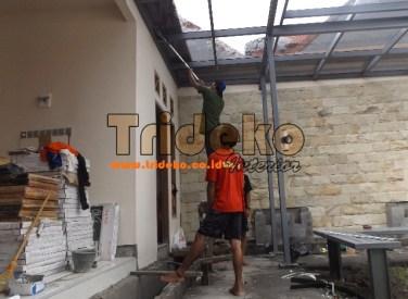 Canopy Kaca Laminated Pak Purwanto 1