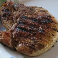 Marinated Orange Pork Chops- DASH Diet