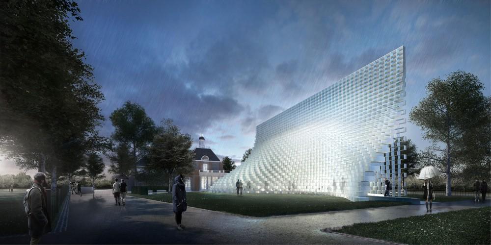 Serpentine Pavilion 2016 par BIG à Londres