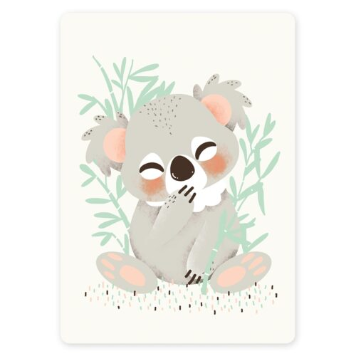 Decoration Chambre Koala Carte Déco Bébé Koala | Kanzilue - La Boutique - Part 1