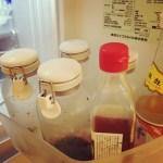キッチン冷蔵庫の調味料。今のところの我が家のルール