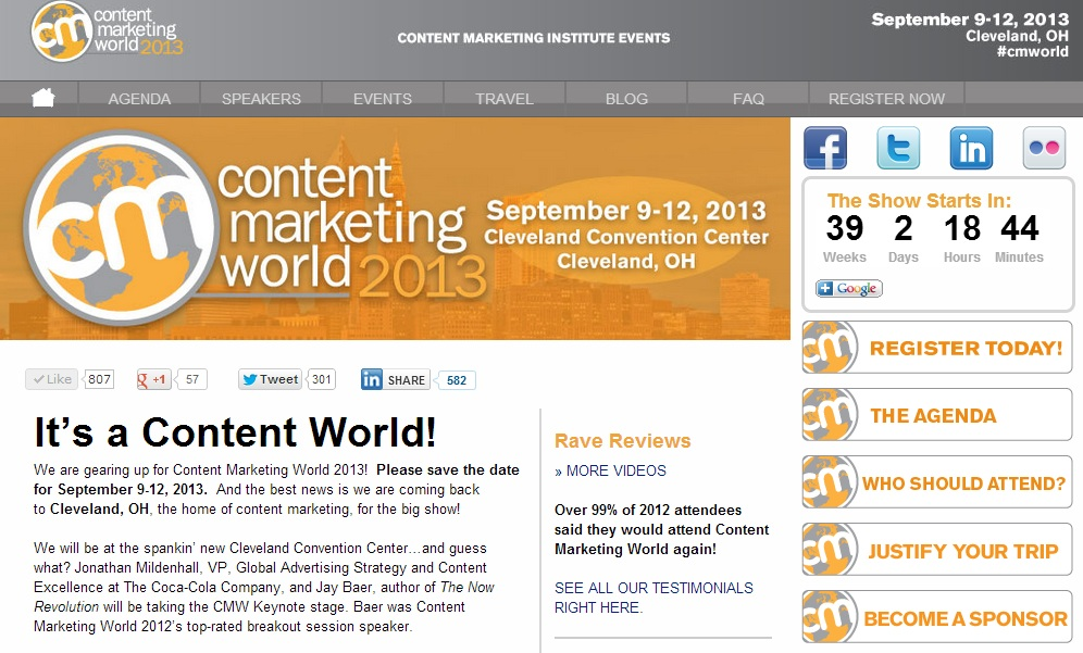 6 Critical Steps to Follow for Content Marketing for Events