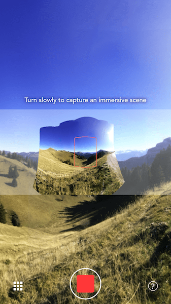 Photonomie's immersive 360 is one of the many new photo formats to appear